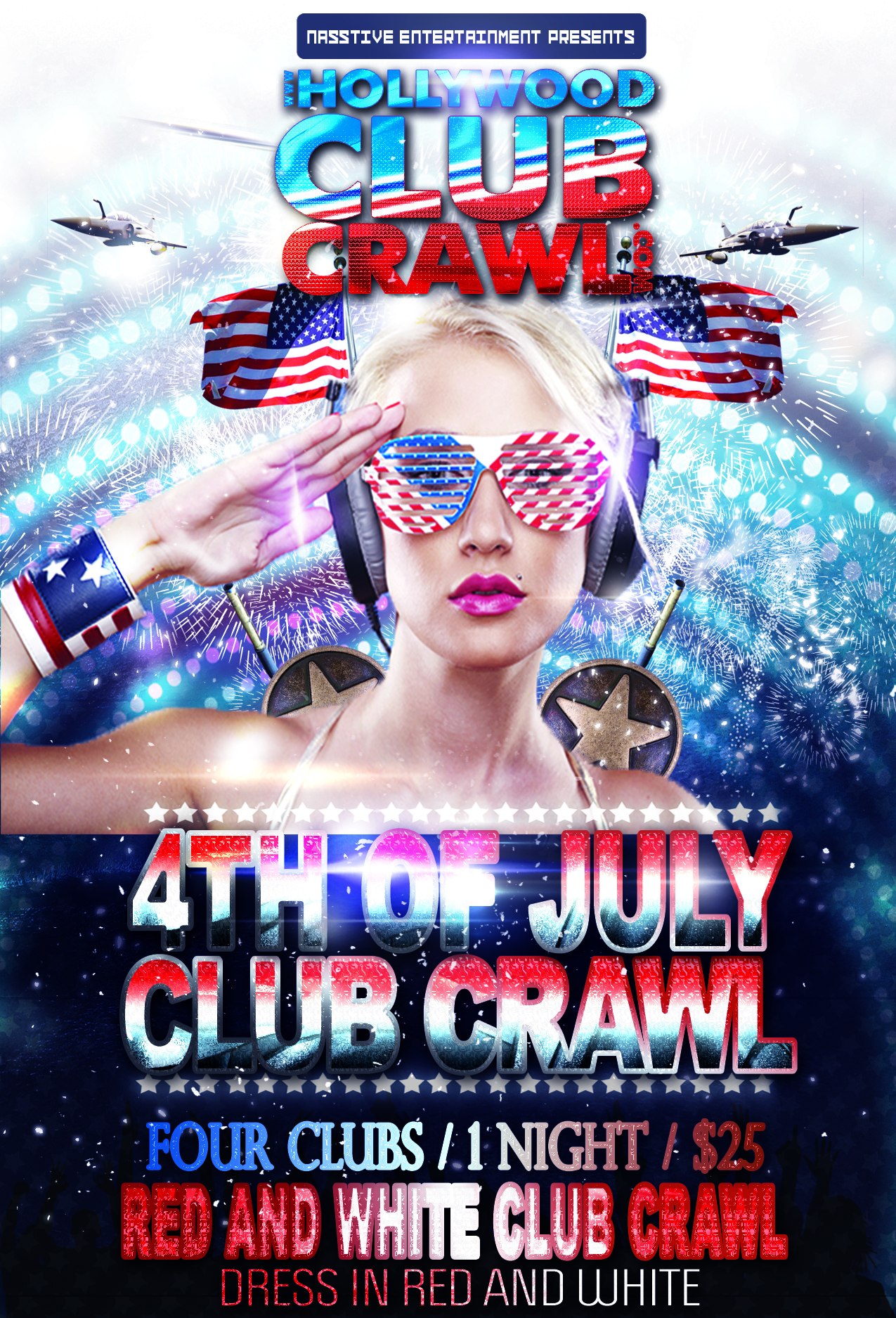 Special Club Crawl Banner