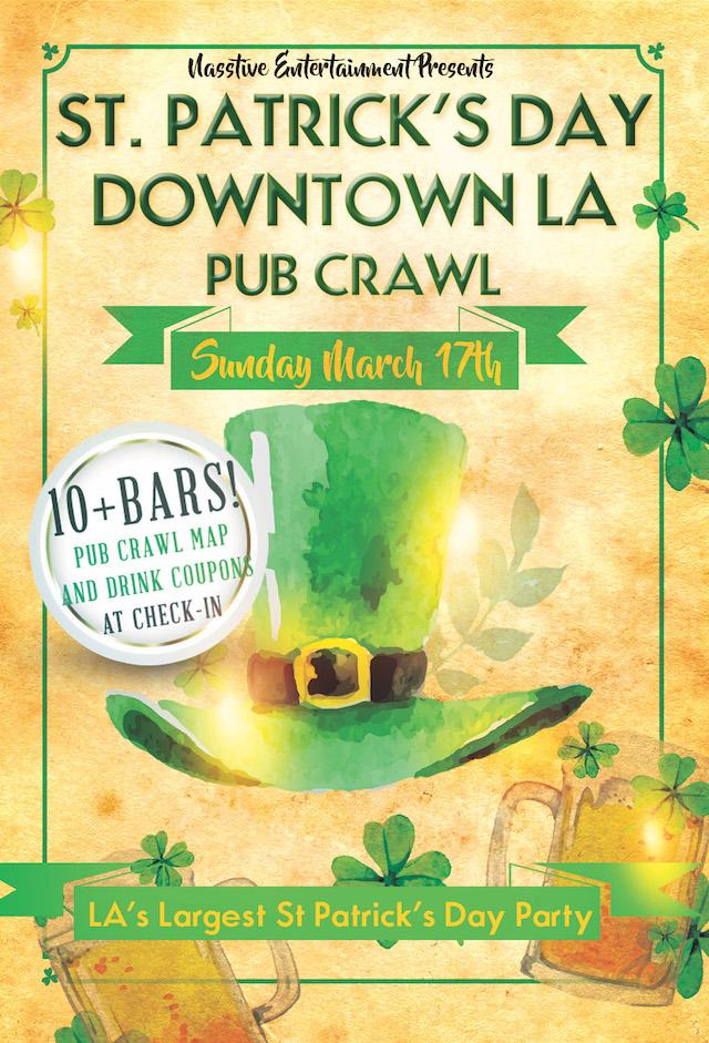 St  Patrick's Day 2019 - Pub Crawl & Block Party - Los